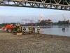 30. Mai 2015: PKW in Rhein