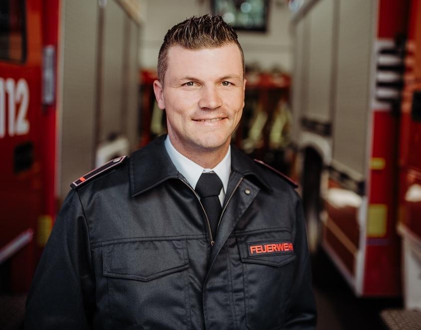 2. stellvertretender Zugführer Pascal Schmeel
