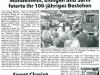 Pressebericht Nordbote vom 18. August 2006