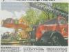Pressebericht WAZ vom 16. August 2006