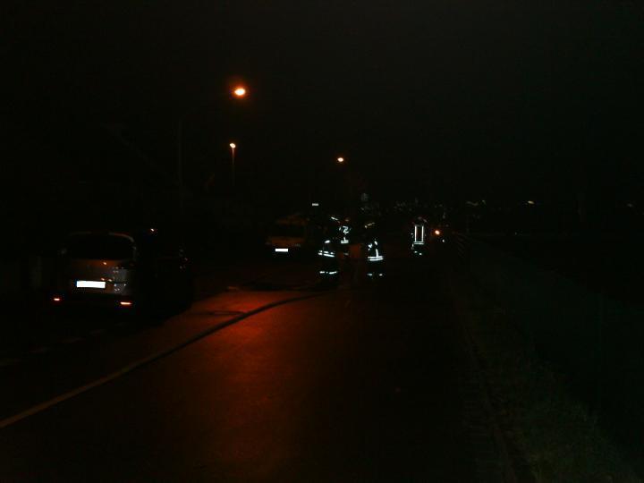 25. Dezember 2012: Zimmerbrand