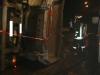 9. Januar 2013: Verkehrsunfall - LKW in Bushaltestelle