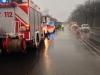 29. Januar 2013: Verkehrsunfall - Umgestürzter LKW