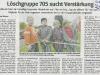 Pressebericht WAZ vom 3. Mai 2008