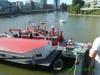 18. August 2012: Besichtigung des Feuerlöschbootes der Feuerwehr Düsseldorf