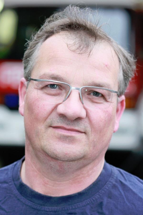Zugführer Peter Klein